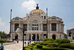 artes palacio πόλεων de Μεξικό bellas Στοκ Φωτογραφία