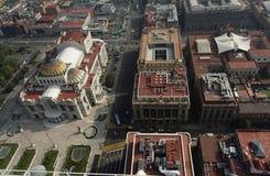 artes palacio πόλεων de Μεξικό bellas Στοκ εικόνες με δικαίωμα ελεύθερης χρήσης