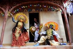 Artes populares indios Fotos de archivo