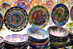 Artes prácticos multicolores hermosos imagen de archivo libre de regalías