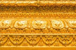 Artes Tailandia como llave del campo común del templo Imagen de archivo libre de regalías