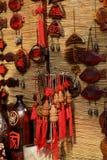Artes y artes del chino tradicional pendientes imagen de archivo libre de regalías