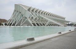 Artes y ciencia Museo-Valencia Foto de archivo libre de regalías