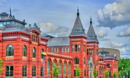 Artes y construcción de los museos de Smithsonian en Washington, D de las industrias C Imágenes de archivo libres de regalías