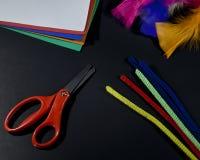 Artes y materiales de los artes Foto de archivo libre de regalías