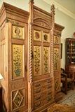 Artes y muebles de los artes en una casa de campo hermosa cerca de Leeds West Yorkshire que no es una propiedad de confianza naci Fotos de archivo libres de regalías