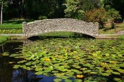 Artes y puente de los artes Foto de archivo libre de regalías