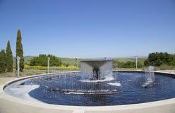 Artesa Winery in Napa Valley Royalty Free Stock Photos