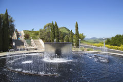 Artesa Winery in Napa Valley Stock Images
