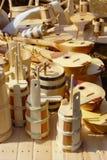 Artesanía de madera Imagen de archivo libre de regalías