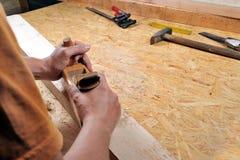 Artesanía en madera Imágenes de archivo libres de regalías