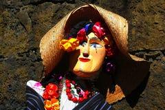Artesanía I de Uruapan Foto de archivo