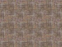 Artesanías de bambú cuadradas Imágenes de archivo libres de regalías
