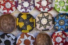 Artesanías de cuero Fotos de archivo libres de regalías