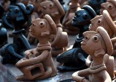 Artesanías de la arcilla de Bengala, la India Imagenes de archivo