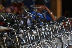 Artesanías de la bici de Indonesia Foto de archivo libre de regalías