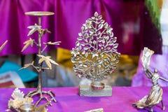 Artesanías para la venta en Nueva Deli, la India Fotos de archivo libres de regalías