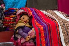 Artesanías peruanas Fotos de archivo