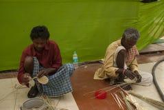 Artesan?a, Bengala Occidental, la India foto de archivo libre de regalías