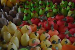 Artesanal fruktgodisar från Mexico, Dulces artesanales de Mexico Arkivfoton