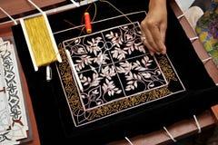 Artesanías del bordado Imagen de archivo libre de regalías