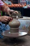 Artesanato da cerâmica em Tailândia Imagens de Stock