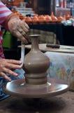 Artesanato da cerâmica em Tailândia Imagem de Stock