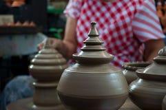 Artesanato da cerâmica em Tailândia Foto de Stock