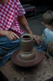 Artesanato da cerâmica em Tailândia Imagens de Stock Royalty Free
