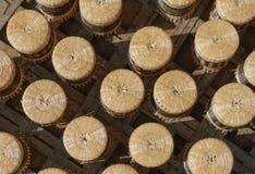Artesanato feito do bambu para a venda Fotografia de Stock Royalty Free