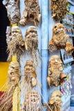 Artesanato tradicional de Vietname feito do bambu em Hoi An local Imagens de Stock