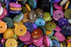 Artesanatos com sementes da palma Imagens de Stock Royalty Free