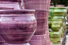 Artesanatos da cerâmica Fotos de Stock
