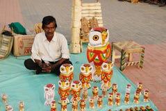 Artesanatos em India Foto de Stock