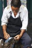 Artesano chino Foto de archivo libre de regalías