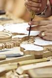 Artesano de la madera Imagenes de archivo