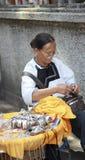 artesano de sexo femenino Foto de archivo libre de regalías