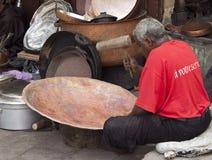Artesano en Marruecos Fotografía de archivo