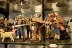 Artesanos de San Gregorio Armeno Foto de archivo