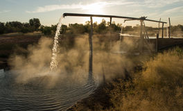 Artesian bore Stock Photography
