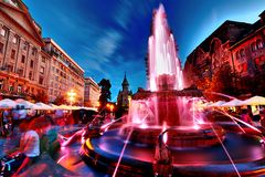 Artesian Fountain Stock Images