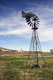 Artesian Well and Chimney Rock Royalty Free Stock Photo