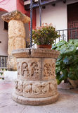 Artesian well in the spain city Stock Photos