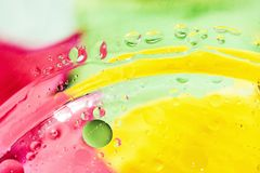 An artful colorful background with bubbles. Abstract background Stock Images