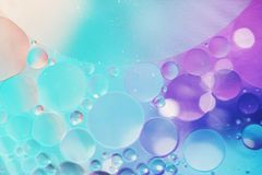 An artful colorful background with bubbles. Abstract background Royalty Free Stock Image
