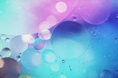 An artful colorful background with bubbles. Abstract background Stock Photo