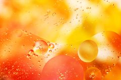 An artful colorful background with bubbles. Abstract background Royalty Free Stock Photo