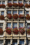 Artful historic architecture in Munich in Bavaria Stock Photography