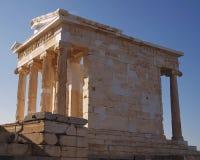 Arthens希腊,雅典娜寺庙  免版税库存照片