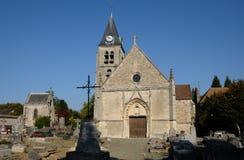 arthies EN villers εκκλησιών Στοκ Εικόνες